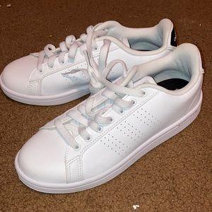 Adidas all white cloud foam